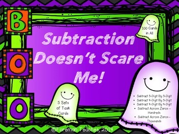 Subtraction Doesn't Scare Me!