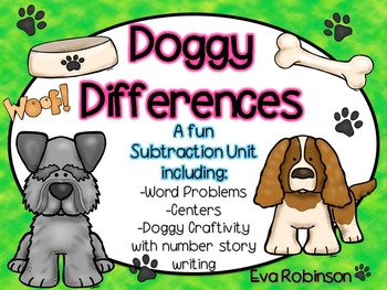 """Subtraction: """"Doggy Differences!"""""""