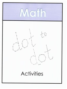 Subtraction Dot to Dot Activities