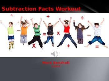 Math Facts Workout: Subtraction