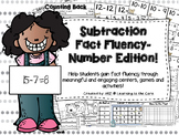 Subtraction Fluency Centers