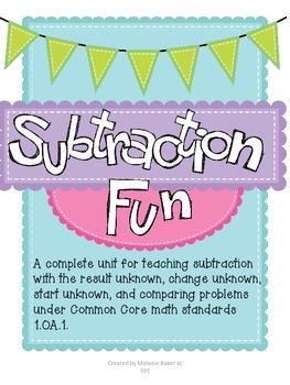 Subtraction Fun 1.OA.1