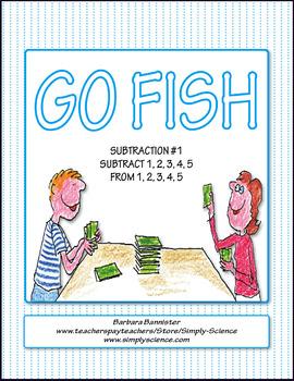 Subtraction Go Fish 1