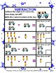 Subtraction-Subtract with Pictures- Facts to 9- Kindergart