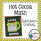 Winter Subtraction Math Craftivity