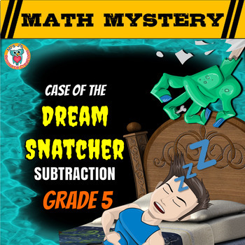 Subtraction Math Mystery: Subtracting Decimals, Fractions