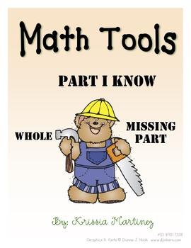 Subtraction Mats - Whole, Part I Know, Missing Part