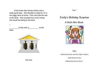 Subtraction Mini Book