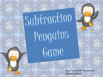 Subtraction Penguin Game