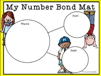 Number Bond Work Mat (FREEBIE)