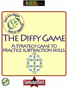 Subtraction Practice & Strategy Game : Diffy Games