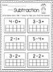 Subtraction Print & Practice: Ten Frames