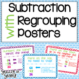 Subtraction Regrouping Posters