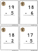 Subtraction SCOOT Game (Within 20) - Grades 1 & 2 Common C