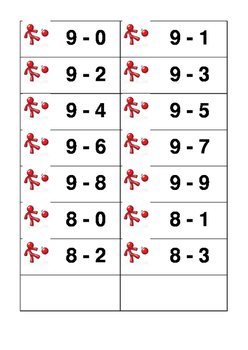 Subtraction Soccer