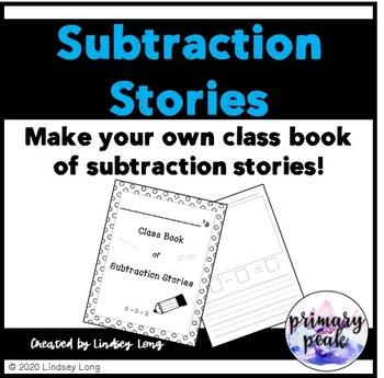 Subtraction Stories - Class Book