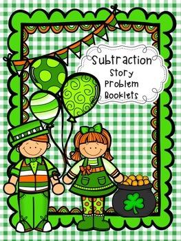 Subtraction Story Problem Booklets
