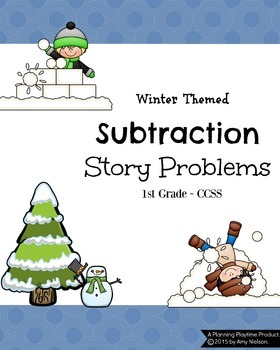 1st Grade Subtraction Word Problems