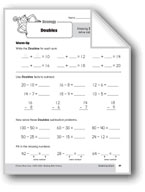 Subtraction Strategies, Grade 3: Doubles