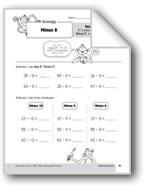 Subtraction Strategies, Grade 3: Minus 8