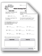 Subtraction Strategies, Grade 3: Which Strategy Fits?