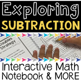 Subtraction Strategies Interactive Notebook and MORE!