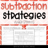 Subtraction Strategies Worksheets - Third Grade GoMath!