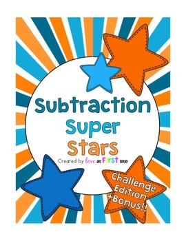 Subtraction Super Stars Challenge Edition + Bonus