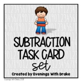 Subtraction Task Cards (No Regrouping)