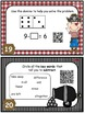 Subtraction Task Cards with QR Codes