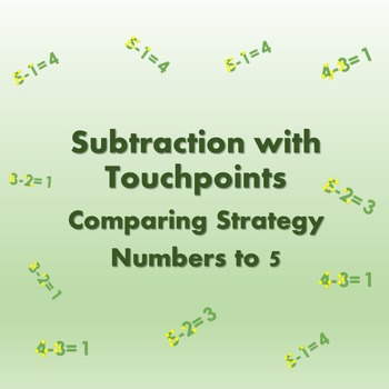 Touch Math Subtraction Touch Points: Comparing Strategy wi