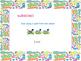 Subtraction Vocabulary 1st Grade- Common Core