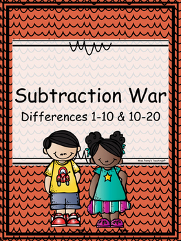 Subtraction War (Differences 1-10 and 10-20)