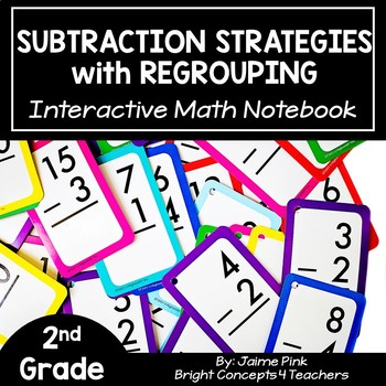 Subtraction With Regrouping: Interactive Notebook Activities