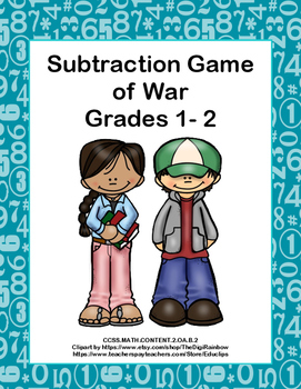 Subtraction Within 20-CCSS.MATH.CONTENT.2.OA.B.2-Game of War