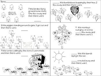 Subtraction Word Problem Introduction