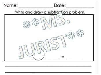 Subtraction Worksheet