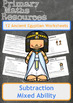 Subtraction Worksheets including Ancient Egyptian Themed W