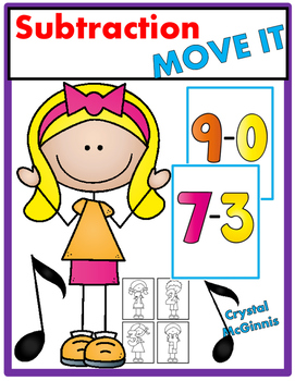 Subtraction JUST MOVE! (A Get Up and Move Around the Class