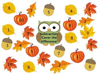 Subtraction in 10