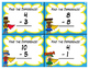 Super Hero Subtraction in 10 Task Cards