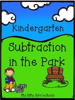 Kindergarten Subtraction in the Park