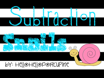 Subtraction practice with and without regrouping