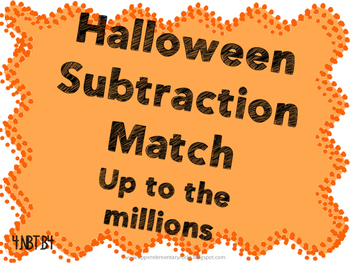Subtraction to millions