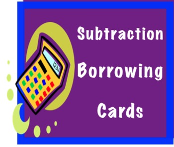 """Comparing Subtraction Problems: """"Borrowing / Regrouping or"""