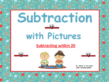 Subtraction with Pictures (within 20):