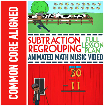 SUBTRACTION WITH REGROUPING Worksheets | Subtraction Regro