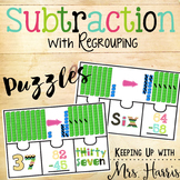 Subtraction with Regrouping - Puzzles