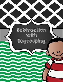 Subtraction with Regrouping Student Work Mat