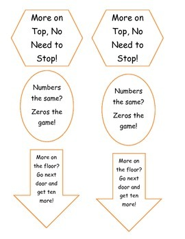 Subtraction with or without Regrouping Rules Folable Labels!